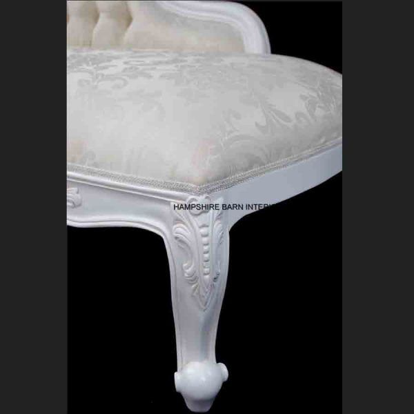 A A Elegance Designers High Back Chaise Longue ..available in WHITE or BLACK6