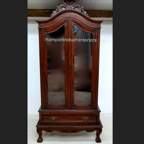 A Glazed Chippendale Style Mahogany Display Cabinet1