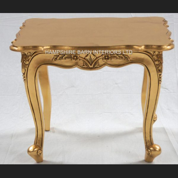 A Gold Leaf Ornate Chateau Style Side4