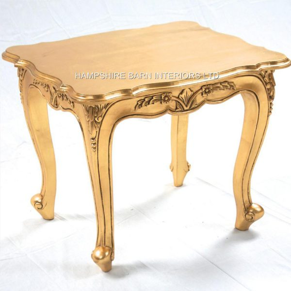 A Gold Leaf Ornate Chateau Style Side5