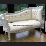 ANNA BELLE CHAISE ANTIQUE WHITE with IVORY FABRIC1
