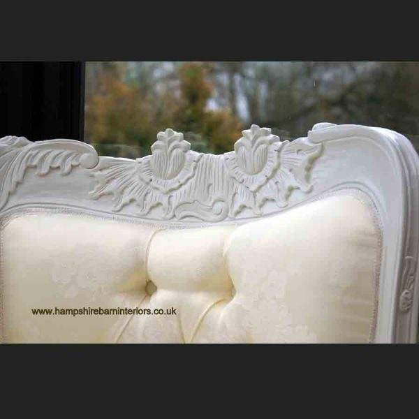 ANNA BELLE CHAISE ANTIQUE WHITE with IVORY FABRIC2
