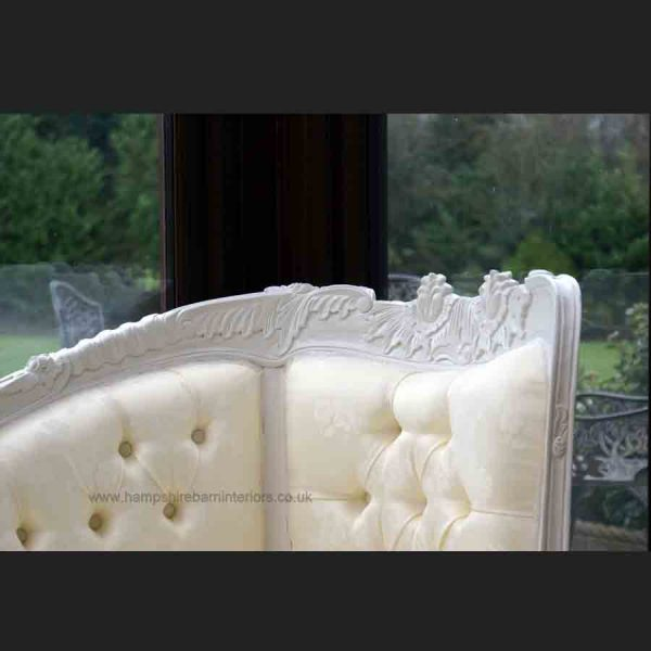 ANNA BELLE CHAISE ANTIQUE WHITE with IVORY FABRIC4