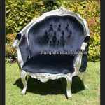 ASCOT SILVER LEAF SALON ARMCHAIR1