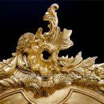 An Ornate French Louis Style Carved SILVER LEAF DISPLAY CABINET, ALSO IN GOLD LEAF7