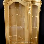 An Ornate French Louis Style Carved SILVER LEAF DISPLAY CABINET, ALSO IN GOLD LEAF8