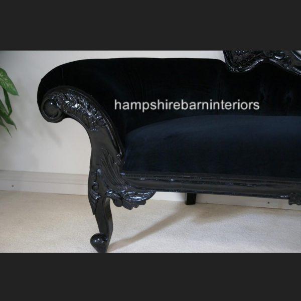 BLACK BEAUTY VELVET HAMPSHIRE NOIR CHAISE LARGE5