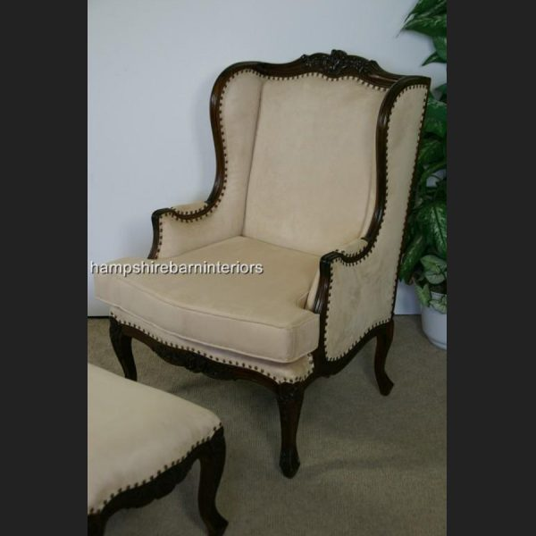 Bergere Wing Back Chair1