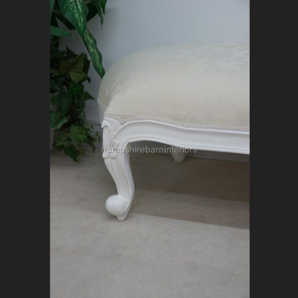 CHELSEA CLASSICAL FRENCH CHAISE IN EITHER BLACK OR WHITE4