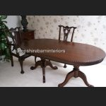 CHIPPENDALE TABLE IN SOLID MAHOGANY4