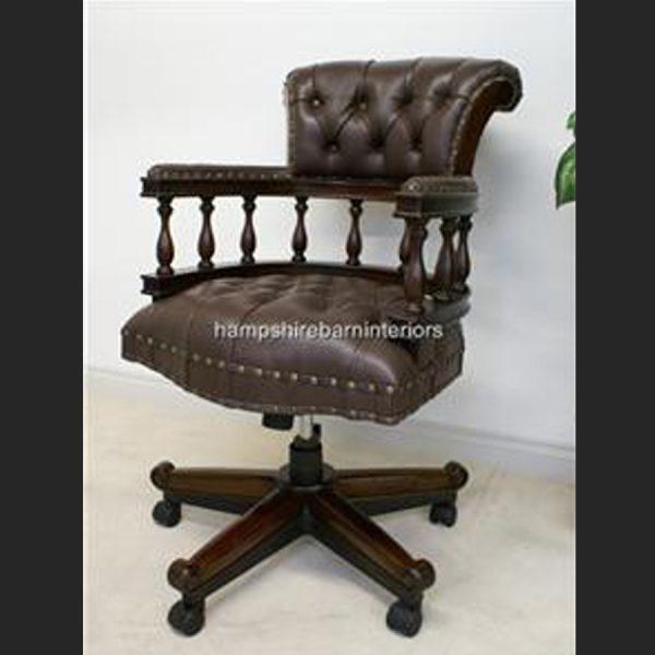 Captain Swivel Desk Chair2