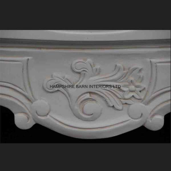 Chateau French Style White Painted Chest of 3 drawers2