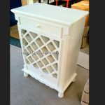 ELEGANT WINE CABINET WITH TWO DRAWERS..available in other finishes1