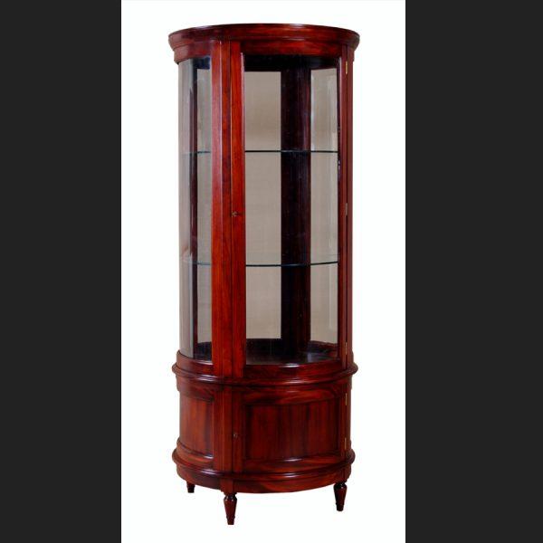 Edwardian Round Display Cabinet