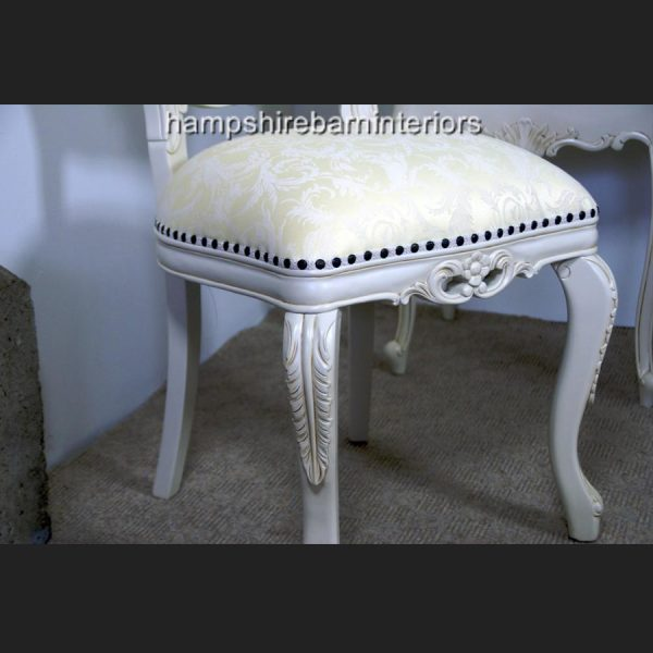 Heart Chair In Antique White4