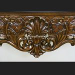 KENSINGTON MARBLE TOPPED CONSOLE TABLE3