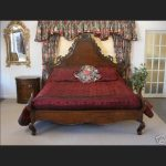 L'amour Bed in Mahogany Finish1