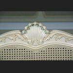 Regency Rattan Bed in Antique White2