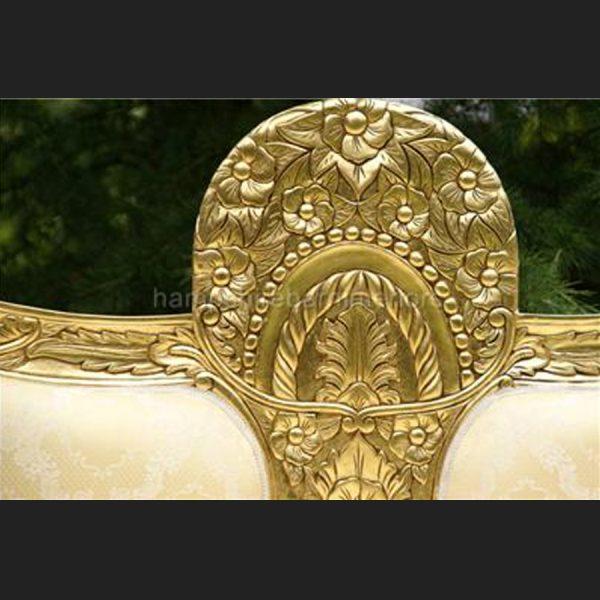 A ASANA GOLD WEDDING STAGE SET3