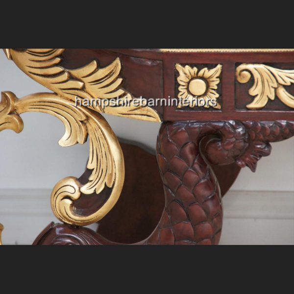 ATANUS ORNATE WEDDING STAGE SLEIGH BOAT WITH TWO SIDE STOOLS5