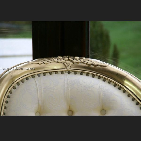The Parisian Wedding Set in gold and cream (sofa and two chairs)4