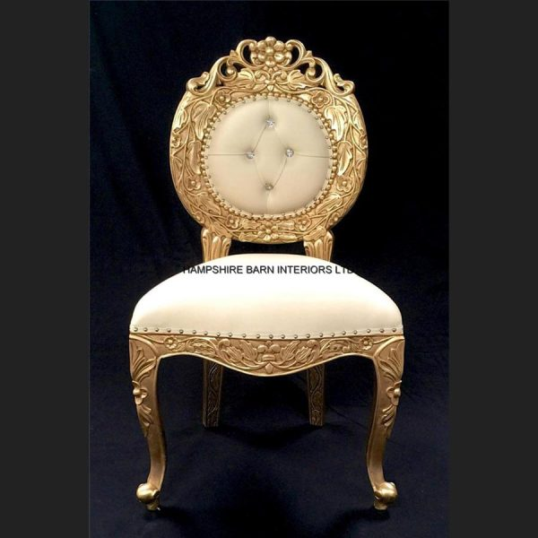 a-a-avalon-ornate-gold-leaf-chairupholstered-in-easiclean-cream-faux-leather-and-crystal-buttoning