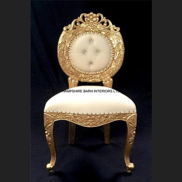 a-a-avalon-ornate-gold-leaf-chairupholstered-in-easiclean-cream-faux-leather-and-crystal-buttoning4