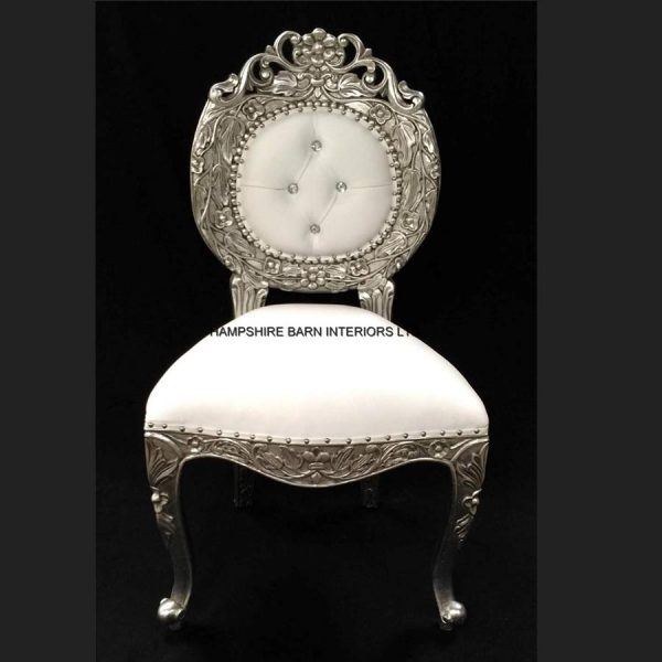 a-a-avalon-ornate-silver-leaf-chair-upholstered-in-easiclean-white-faux-leather-and-crystal-buttons