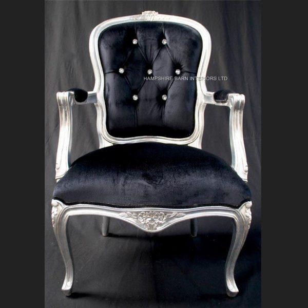 a-a-cheshire-ornate-chair-with-arms-in-silver-leaf-and-crystal-buttons