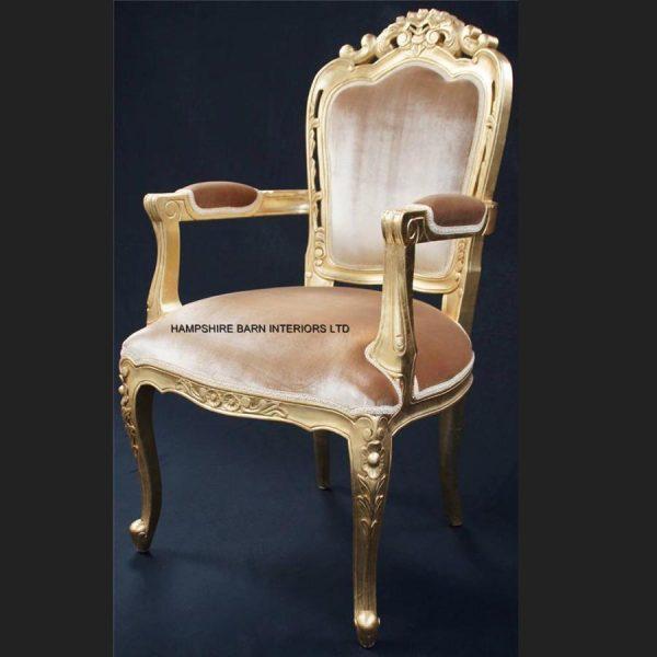 a-a-elegance-wedding-set-3-piece-suite-shown-in-gold-leaf-frame-gold-velvet-and-crystal-buttons6