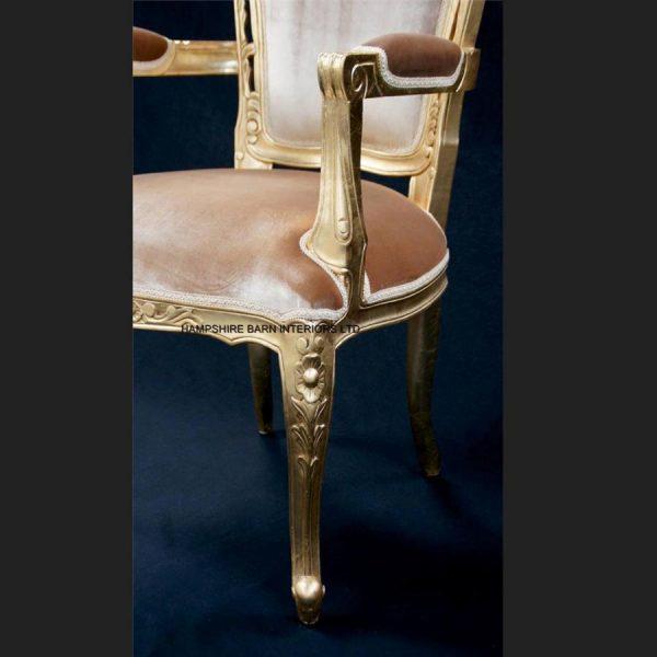a-a-elegance-wedding-set-3-piece-suite-shown-in-gold-leaf-frame-gold-velvet-and-crystal-buttons9