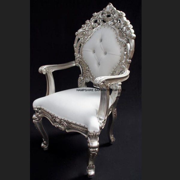 a-a-ornate-royal-palace-throne-chair-in-silver-leaf-frame-and-white-faux-leather-with-crystal-buttons