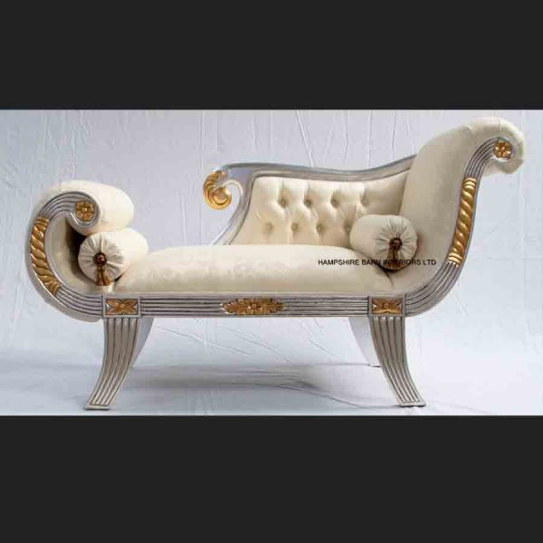 a-beautiful-small-knightsbridge-chaise-longue-shown-in-silver-leaf-frame-with-gold-detailing-and-ivory-cream-fabric-copy