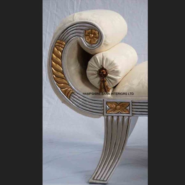 a-beautiful-small-knightsbridge-chaise-longue-shown-in-silver-leaf-frame-with-gold-detailing-and-ivory-cream-fabric2