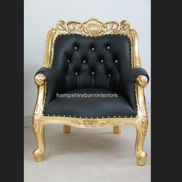 a-berkeley-club-salon-3-piece-suite-in-gold-leaf-black-faux-leather-with-diamond-crystal-buttons2