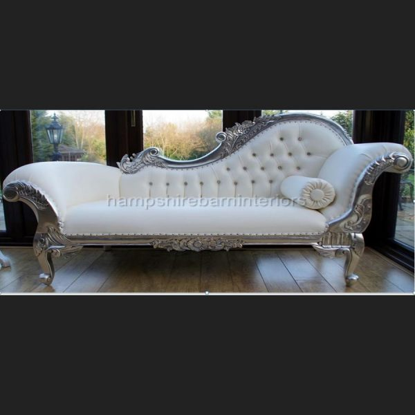 a-diamond-silver-leaf-large-hampshire-chaise-with-white-faux-leather-and-crystal-buttons