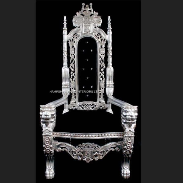 aa-silver-lion-king-throne-chair-w-black-velvet-with-crystals