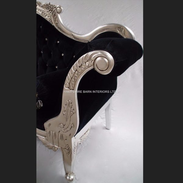 antique-silver-and-black-velvet-wedding-sofa-with-crystal-buttons2