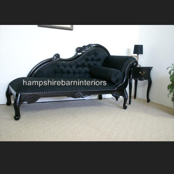 bordeaux-chaise-medium-in-gloss-black-and-black-fabric