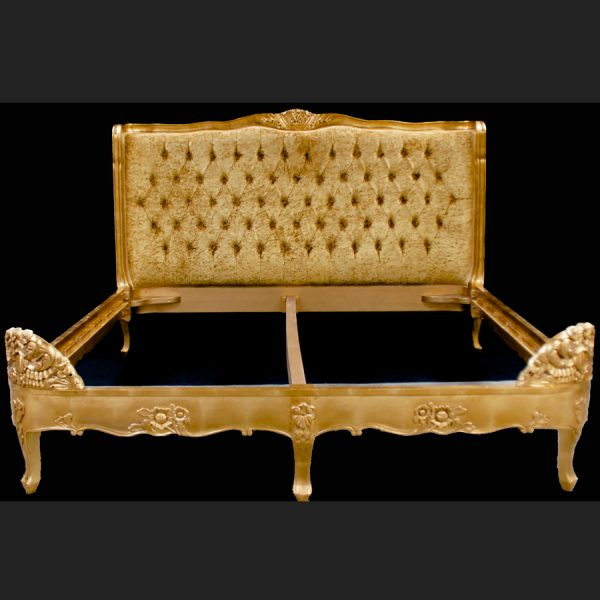 a-french-louis-versailles-style-bed-shown-in-gold-leaf-with-champagne-gold-crushed-velvet-upholstery